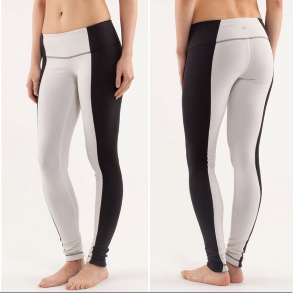 16472217b6a3f5 lululemon athletica Pants - Lululemon Color Block Wunder Under Leggings
